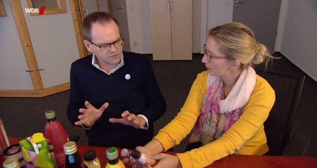 """WDR, """"Achtung Mogelpackung: Superdrinks und ihre phantastischen Versprechen"""""""