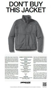 Patagonia - Don't buy this jacket!