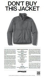Patagonia - Don't buy this jacket!