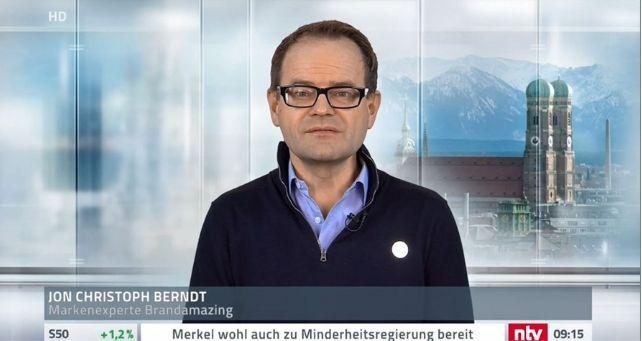 """n-tv, """"Jahreszahlen von Puma"""""""