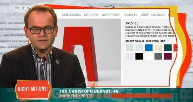 """RTL, """"Nicht mit uns! Die miesen Tricks in der Möbelbranche"""""""